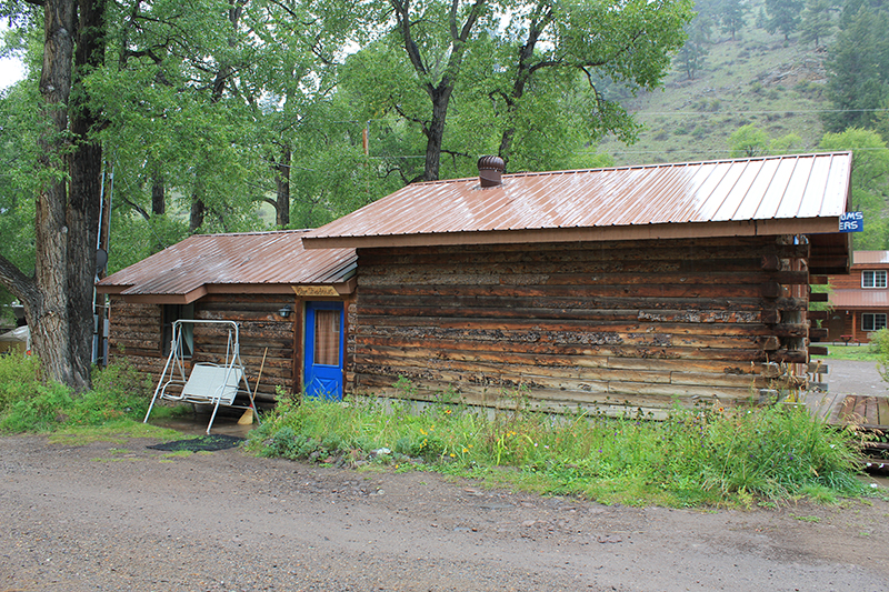 Blue Shadow Cabin
